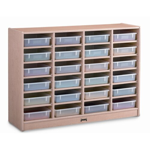 Jonti-Craft Paper-Tray 24 Compartment Cubby
