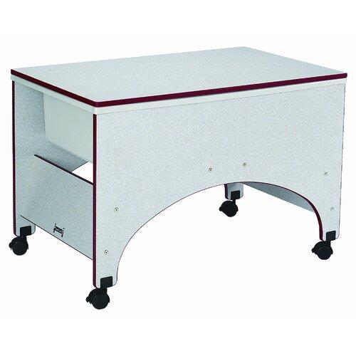 "Jonti-Craft 36.5"" x 23"" Rectangular Classroom Table"
