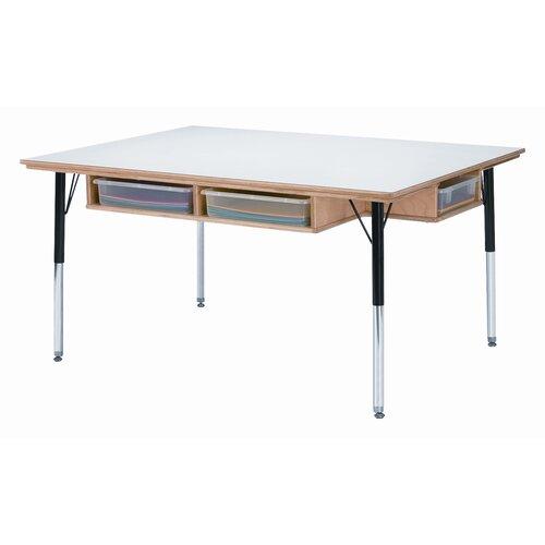 "Jonti-Craft 48"" x 36"" Rectangular Classroom Table"