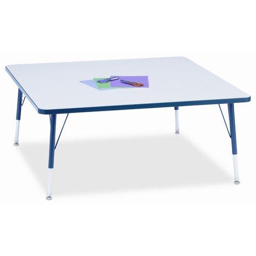 "Jonti-Craft KYDZ 48"" Square Classroom Table"