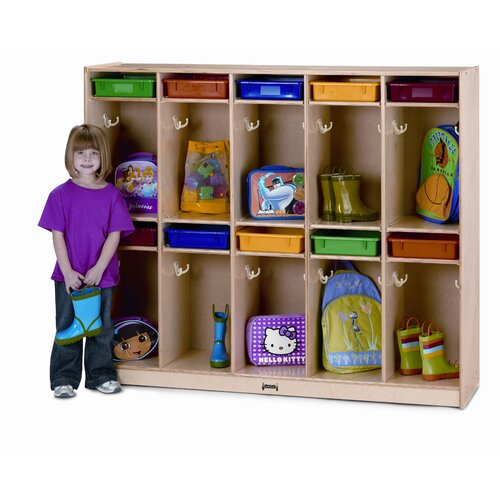 Jonti-Craft 10-Section Take Home Locker