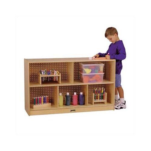 Jonti-Craft Low Single Mobile Storage Unit
