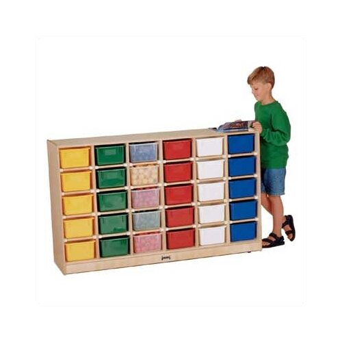 Jonti-Craft ThriftyKYDZ  Mobile 30 Compartment Cubby