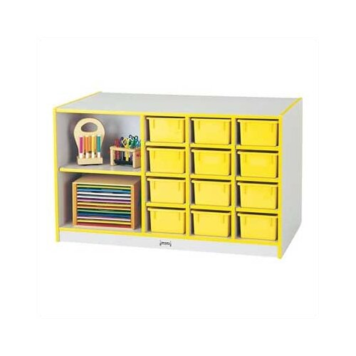Jonti-Craft ThriftyKYDZ Mobile Storage 14 Compartment Cubby