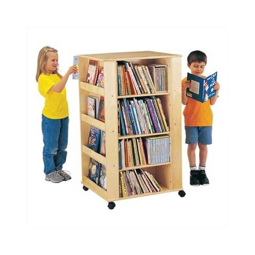 "Jonti-Craft ThriftyKYDZ Multimedia 46.5"" Book Cart"