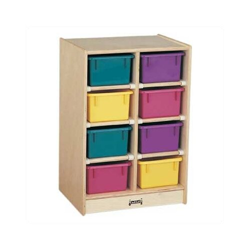 Jonti-Craft Mobile 8 Compartment Cubby