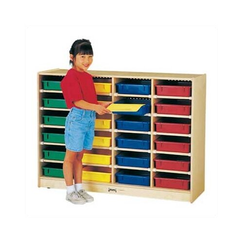 Jonti-Craft ThriftyKYDZ Paper-Tray 24 Compartment Cubby