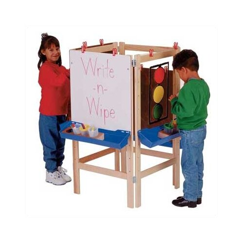 Jonti-Craft 4 Way Adjustable Easel