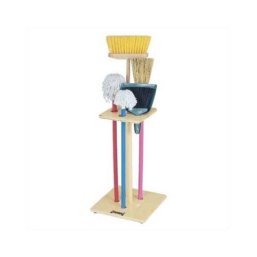 Jonti-Craft Housecleaning Rack