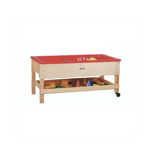 Jonti-Craft Sand-n-Water Table w/ Shelf - Toddler Height