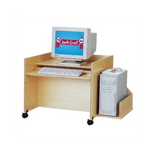 "Jonti-Craft ThriftyKYDZ 30"" W Single Computer Desk"