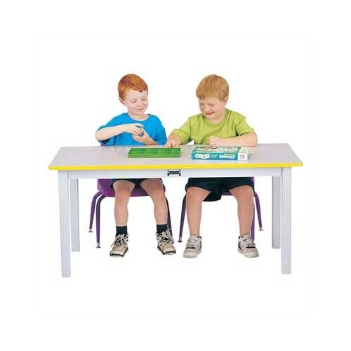 Jonti-Craft Rainbow Accents Large Rectangular Table