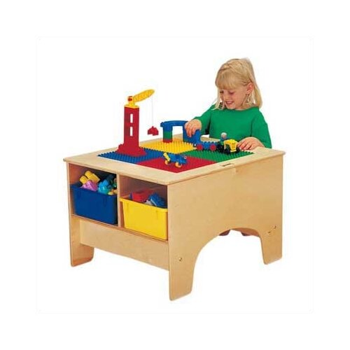 Jonti-Craft KYDZ Building Table - Duplo Compatible