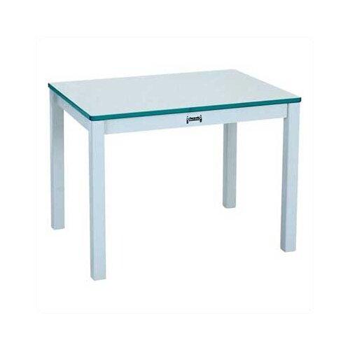 "Jonti-Craft Rainbow 30"" x 22"" Rectangular Classroom Table"