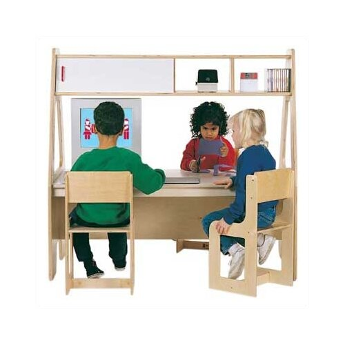 "Jonti-Craft Twin 49.5"" W x 29"" D Youth Table"