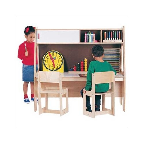 "Jonti-Craft Twin Activity Center 49.5"" W x 29"" D Youth Table"