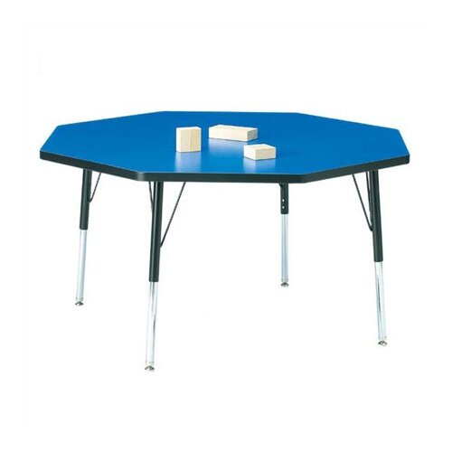 "Jonti-Craft KYDZ Toddler Height Activity Table- Octagon (48"" diameter)"