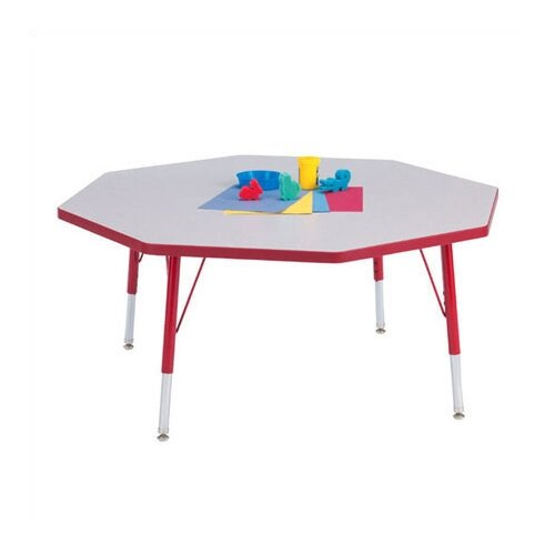 "Jonti-Craft KYDZ Octagonal Activity Table (48"" Diameter)"