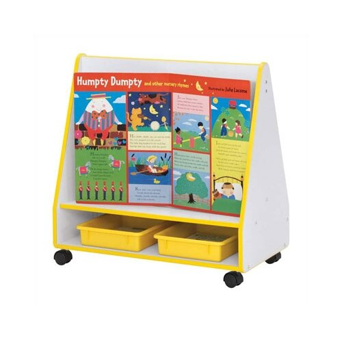 "Jonti-Craft Rainbow Accents 30"" Mobile Book Display"