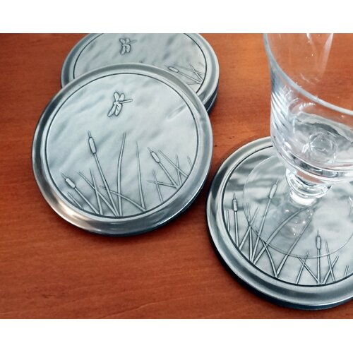 Dragonfly Coaster (Set of 4)