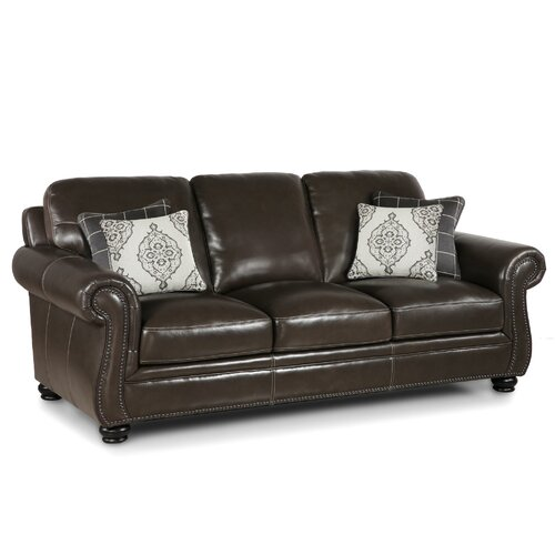 Charleston Leather Sofa Wayfair