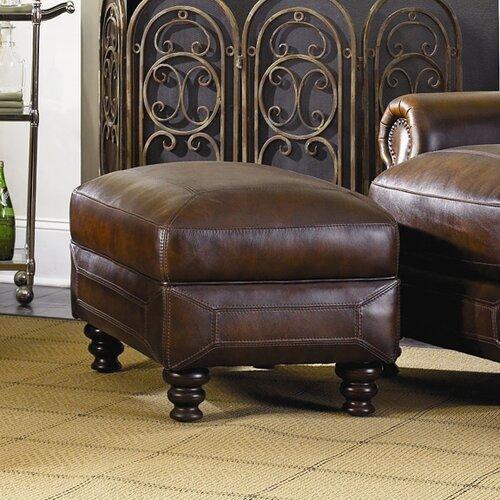 Ashland Leather Ottoman