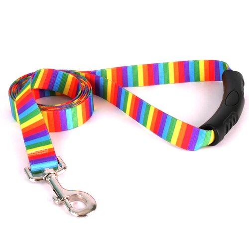 Yellow Dog Design Rainbow Stripes EZ-Lead
