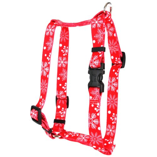 Red Snowflakes Roman Harness