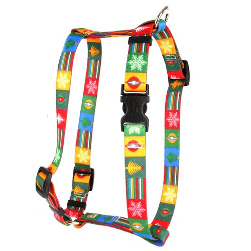 Yellow Dog Design Holiday Blocks Roman Harness