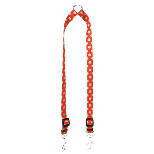 Christmas Polka Dot Coupler Lead