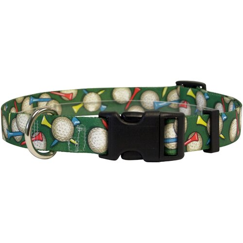 Yellow Dog Design Golf Balls Standard Collar