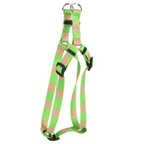 Skulls Step-in Dog Harness