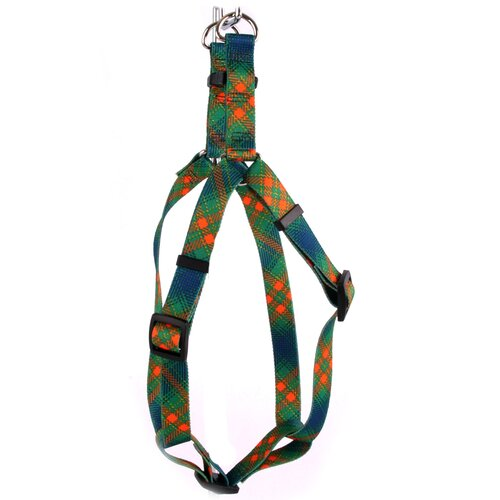 Yellow Dog Design Green Kilt Step-In Harness