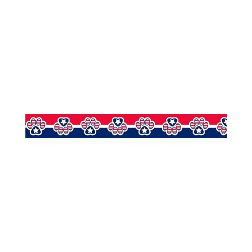 Yellow Dog Design Patriotic Paws Standard Collar