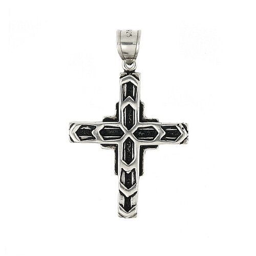 Plain Sterling Silver Cross Pendant
