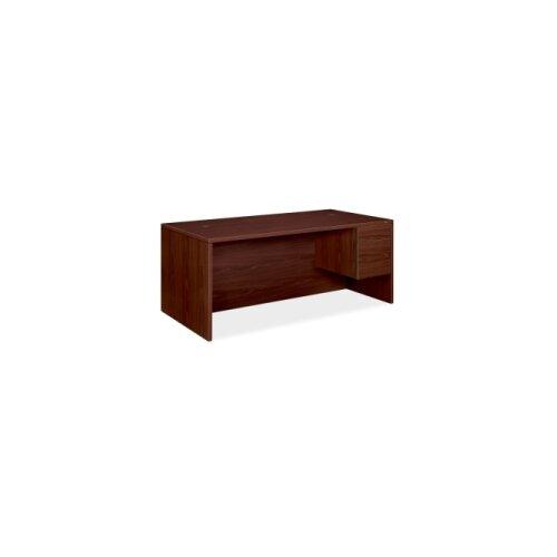"""HON 10500 Series 72"""" W Double Pedestal Large Executive Desk"""
