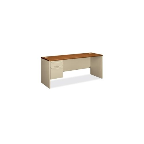HON 38000 Series Executive Desk 1 File and 1 Box Drawer