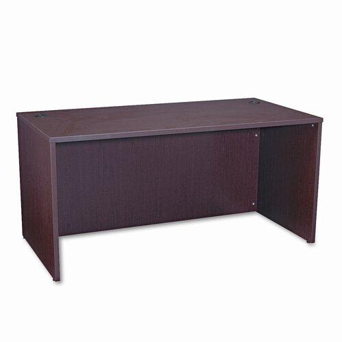 "HON BL Laminate 60"" W Series Rectangular Executive Desk Shell"