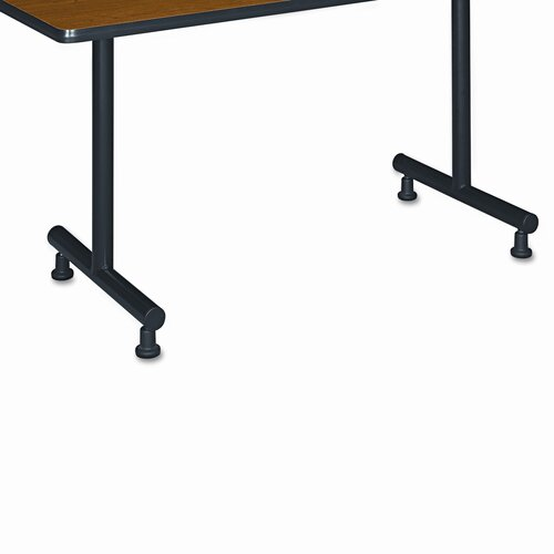 HON Basyx T-Leg Training Table Base, 1 Pair