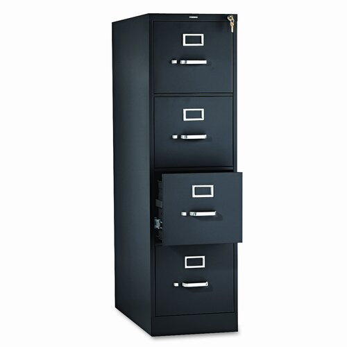 HON 310 Series 4-Drawer Letter  File