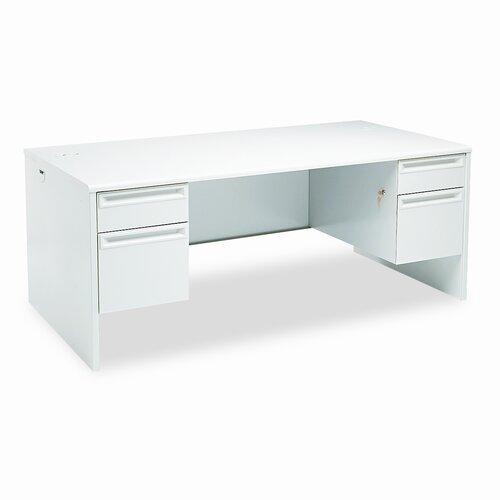 HON 38000 Series Double Computer Desk