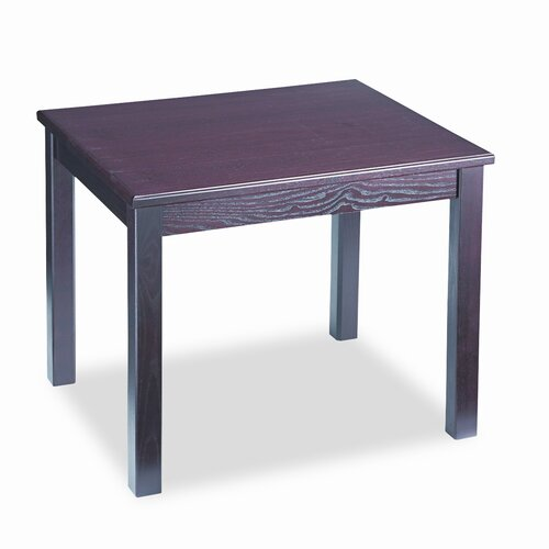 HON 5100 Series Wood End Table, Rectangular