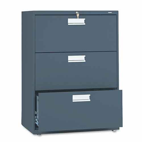 HON 600 Series 3-Drawer  File