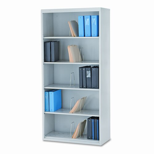 "HON 600 Series Jumbo Open File 75.88"" Bookcase"