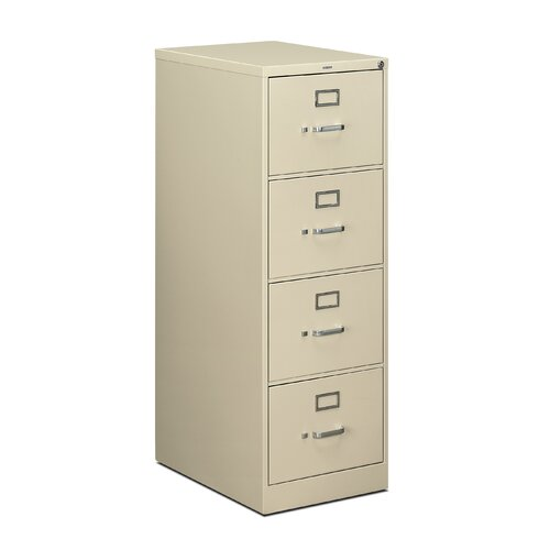 HON 510 Series 4-Drawer Legal  File