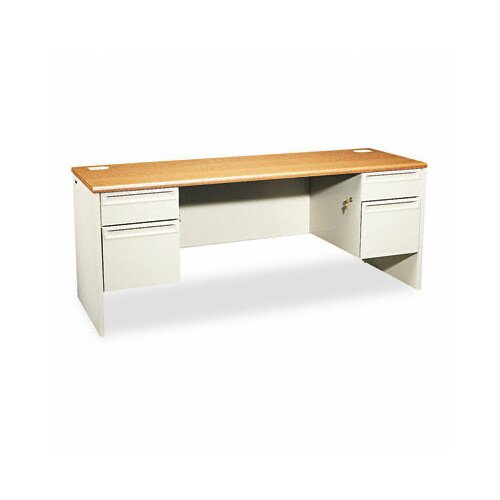 HON 38000 Series Kneespace Executive Desk