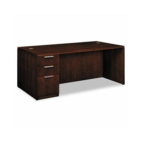 HON Arrive Single Computer Desk with 3 Drawer