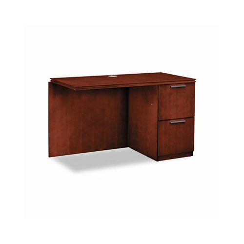 HON Single Pedestal Right Desk Return