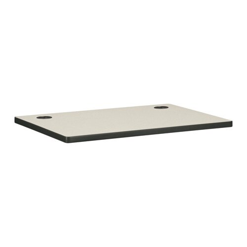 """HON Worksurface, w/ 2 Cord Grommets, 36""""x24""""x1-1/8"""""""