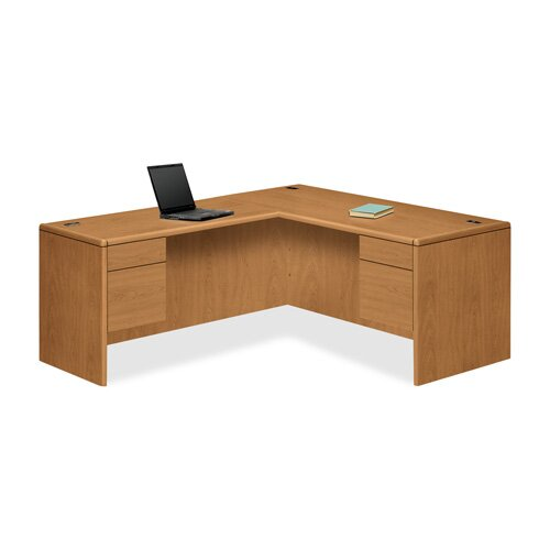 HON 10700 Series Right Pedestal Credenza